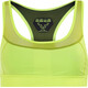 Dynafit React Sports Bra Women yellow